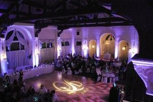 pine ridge country club reception uplighting