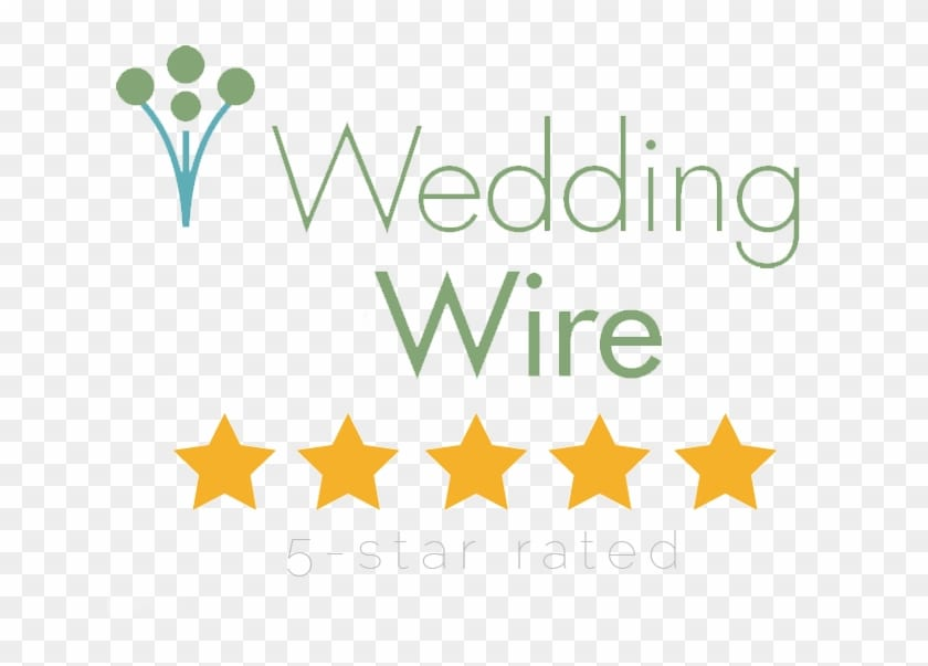 Wedding Wire Five Star Cleveland DJ rating logo