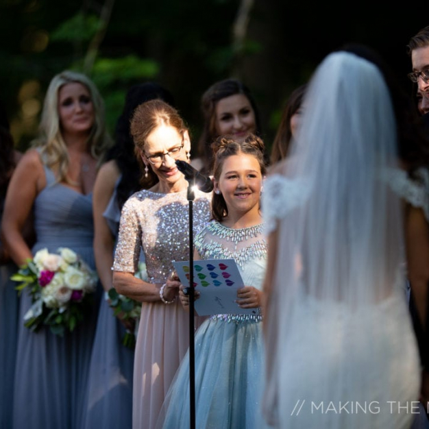 No one missed this special moment thanks to having SSE setting up wedding ceremony sound