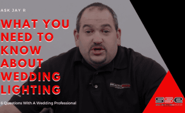 Cleveland wedding lighting tips given by pictured SSE owner, Jay R.