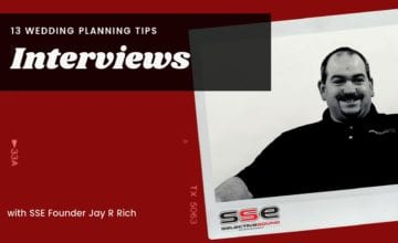 Photo of SSE Founder, Jay R Rich - 13 planning tips for Cleveland weddings