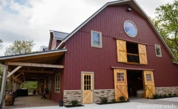 Outdoor view of The Barn at Mapleside Farms in Cleveland Ohio