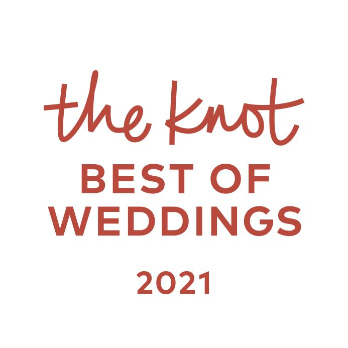 The Knot Best of Weddings 2021 badge