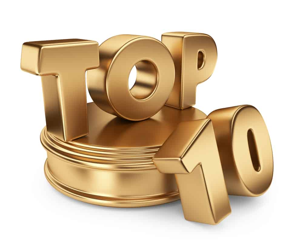 Golden top 10 song statue for top 10 first dance wedding songs