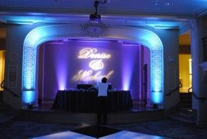 lights, dj, park lane villa, selective sound, wedding, reception, ceremony