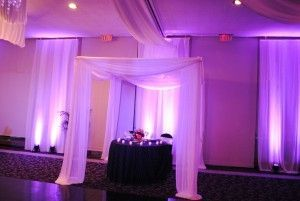Executive caterers at landerhaven Selective Sound uplighting