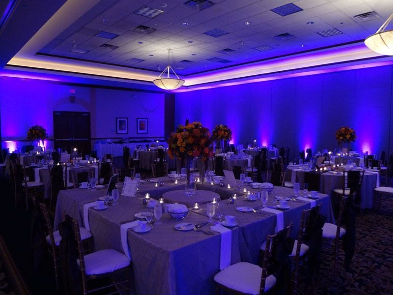 Cleveland Lighting and DJs at Embassy Suites in Independence & Selective Sound - Clevelandu0027s Wedding Event Lighting DJs | Selective ...