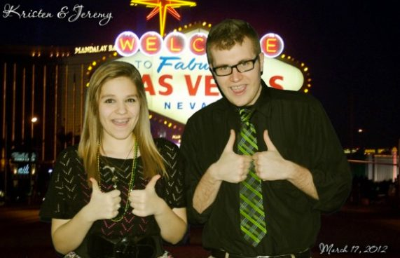 Our Green Screen Photo Booth can put you in Las Vegas!