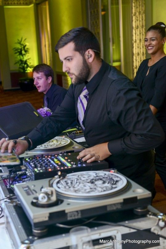 wedding dj cleveland, ohio wedding, venue, wedding party