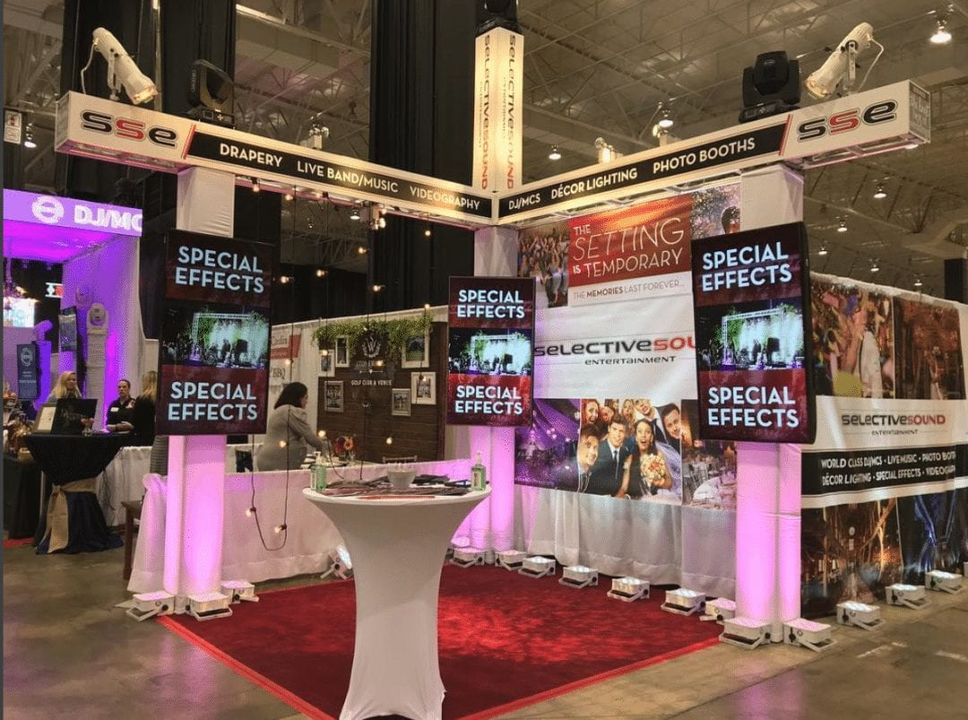 Bridal shows, like this one in Cleveland, are a great way to make sure the vendor is reputable and you mesh well with them