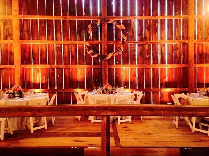 Selective Sound Barn Wedding Decor