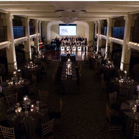 The Ballroom @Park Lane gatsby style uplighting