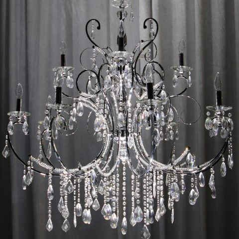 50-60`` Large Crystal Chandeliers