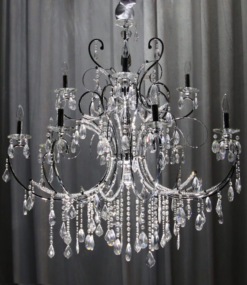 Priceless Crystal Chandelier from Selective Sound Entertainment